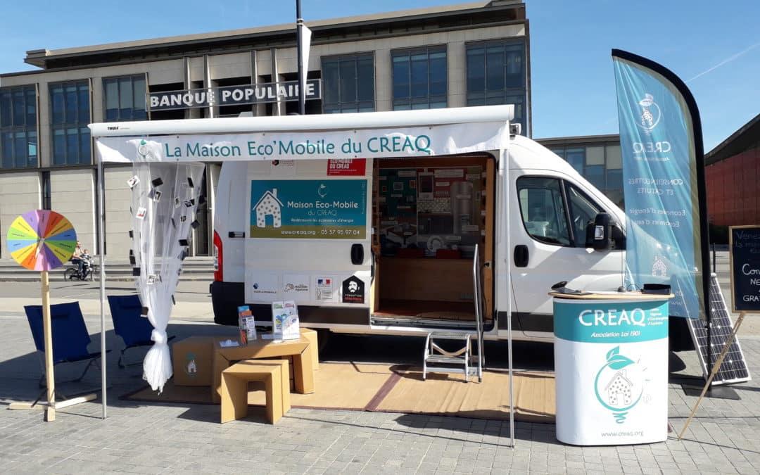 Circuit de la Maison Eco'Mobile sur la COBAN