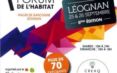Forum de l'Habitat à Léognan